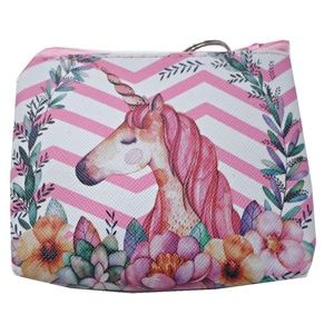 Handbags - Pastel Pink Unicorn Mini Coin Purse